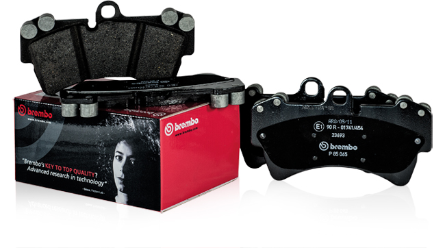 Anticontraffazione Brembo: packaging  pastiglie